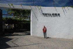 John outside Taylor's