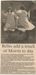 Belles add a touch of Morris to day