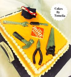 Home Depot Cakes