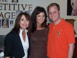 Mary Richardson, International Pageants Director, Me, & Joey Retherford of The Competitive Image