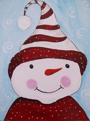 Peppermint the Snowman