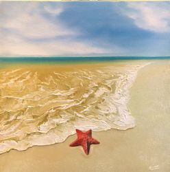 Starfish in the surf