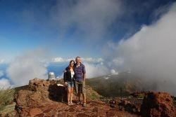 The observatories on La Palma (Ann and John)