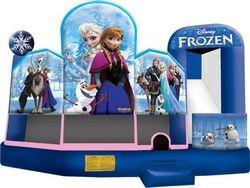 Frozen 5 in 1 combo moonwalk $230.00+ Tax