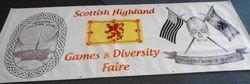 Scottish Highland Banner