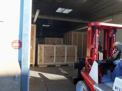 Complete Ions shipment to Scotland