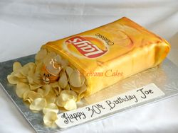 Bag of Chips cake