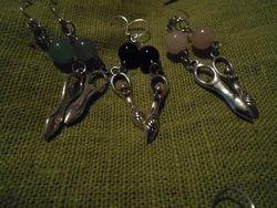 Gudinneörhängen/Goddess earrings