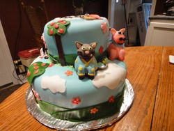 Tiny Tillia Cake
