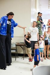 Bill on Stilts:  Stouffville Strawberry Festival