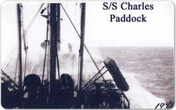 S/S Padock at sea