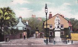 Castle Entrance, 1913.