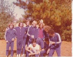 UF 1974 Cross Country Team