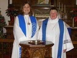 Pastor Amy Ogren & Pastor Susan Anderson