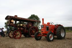 A&P Steam Showmans Tractor