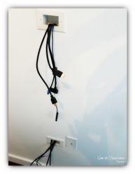 TV-Wire-Management Option
