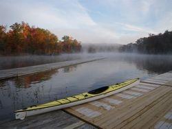 Dock at Lake Ridge Marina