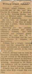 Johnson, William Albert 1940
