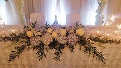 Dusty Blue Hydrangea Wedding