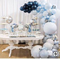 Baby Boy Theme all Blue
