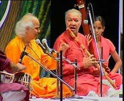 Pandit Jasraj and Pandit Hariprasad Chaurasiya