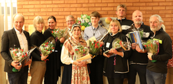 Utdelning av stipendium 2016