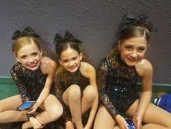 Cheer Team - waiting for awards time