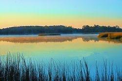 Sunrise on Wallace Creek