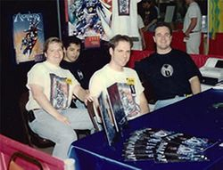 "The ""Archangels"" comic series was created and self-published by Patrick Scott with Co. Creators John Leger and Andy Orjuela in 1995."