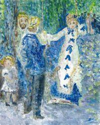 Interpretation of The Swing by Renoir
