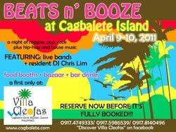 Beats n' Booze poster