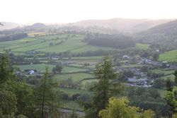 Veiw across the Tanat Valley