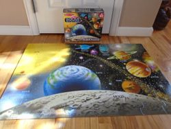 Melissa And Doug Solar System Floor Puzzle 48pc - $8