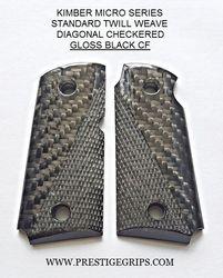 KIMBER MICRO Series Diagonal Checkered