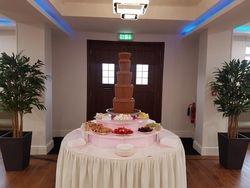 5 tier chocolate fountain.