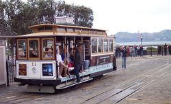 The Hyde Street Cable Car Turntable