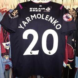 Andriy Yarmolenko issued Premier League Asia Trophy 2019 third shirt