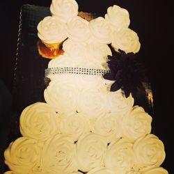 Cupcake Dress for wedding shower