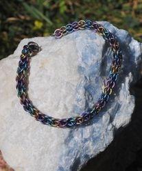 Rainbow Titanium Bracelet
