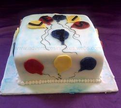 1st birthday cake (egg and dairy free)