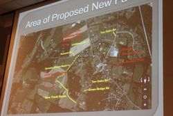 Green Bridge Road Access to Proposed Industrial Site