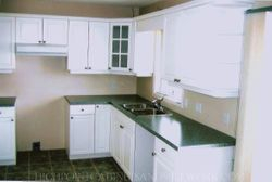 AFTER - Raised Panel White Laquer Kitchen