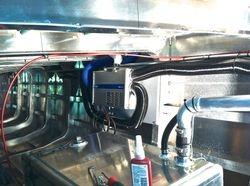 Diesal heater instalation
