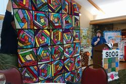 Striking Quilt as You Go Quilt