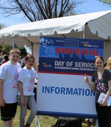 Day of Service on the National Mall