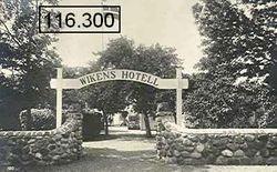 Vikens hotell 1920