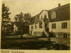 Hotell Lerhamn 1941