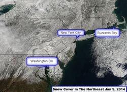 Snow Cover Jan 9, 2014