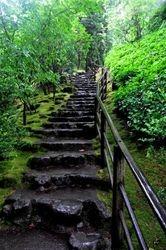Stone Stairway, Portland Japanese Garden
