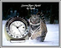 Snow Tiger Seiko 6309-7040